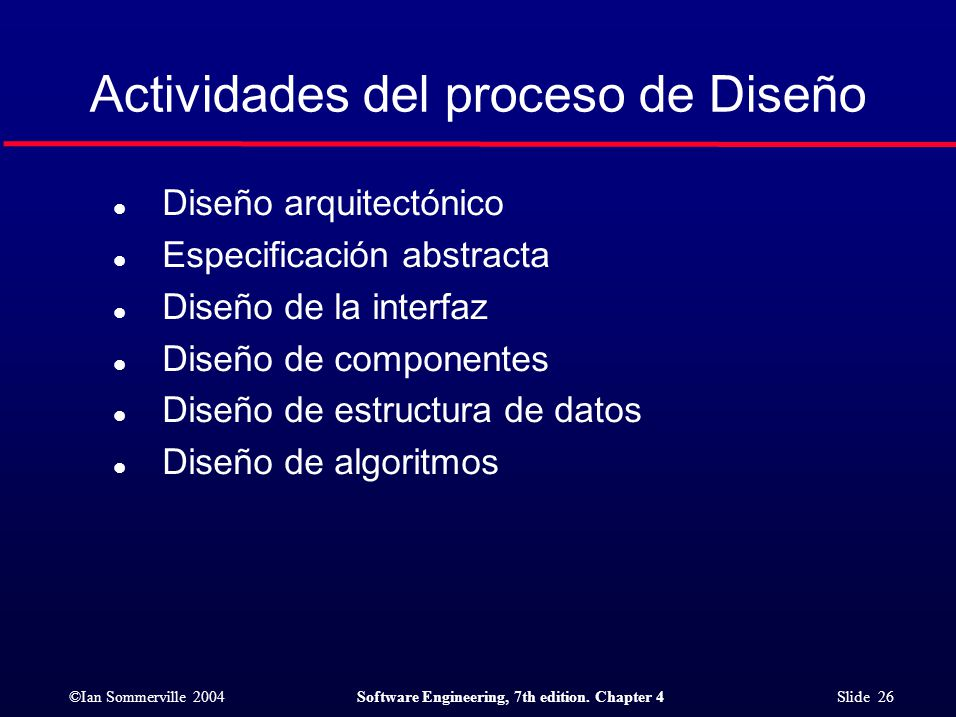 Procesos de software ppt descargar for Software de diseno arquitectonico