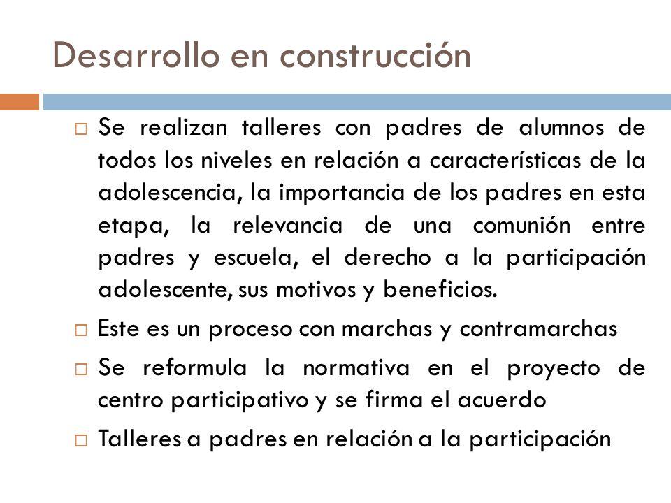 Desarrollo en construcción