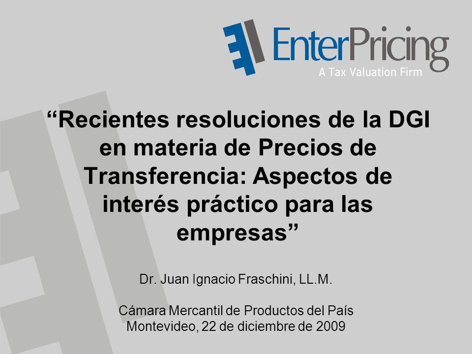 Recientes resoluciones de la DGI en materia de Precios de Transferencia: Aspectos de interés práctico para las empresas