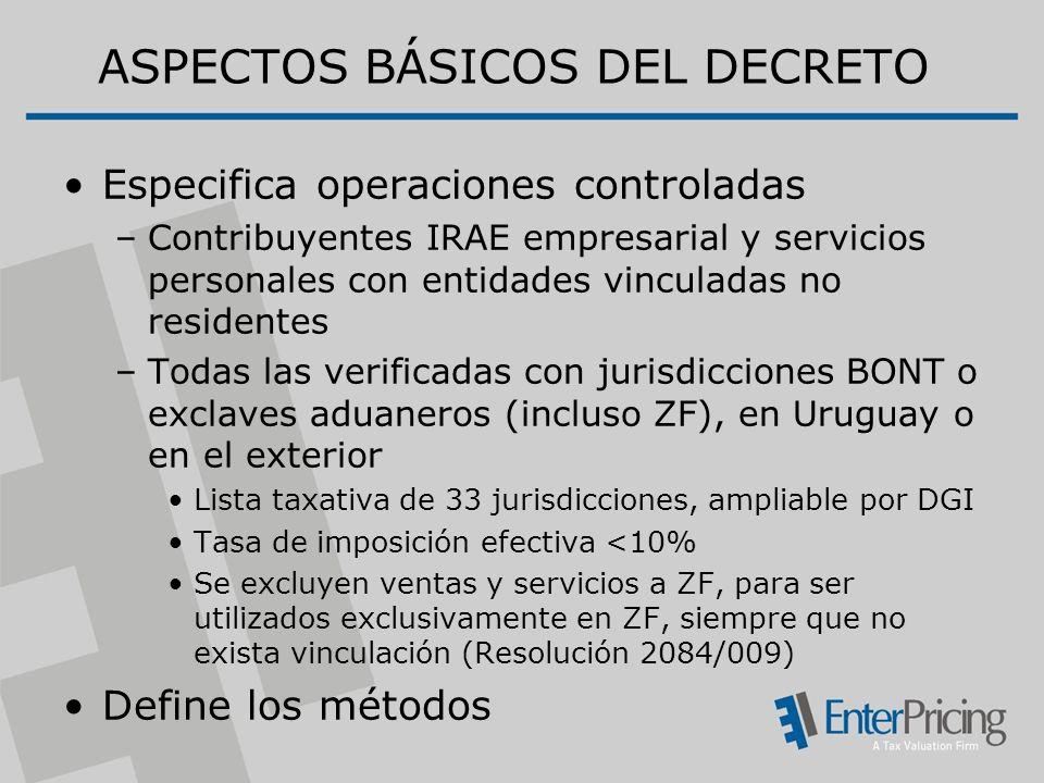 ASPECTOS BÁSICOS DEL DECRETO