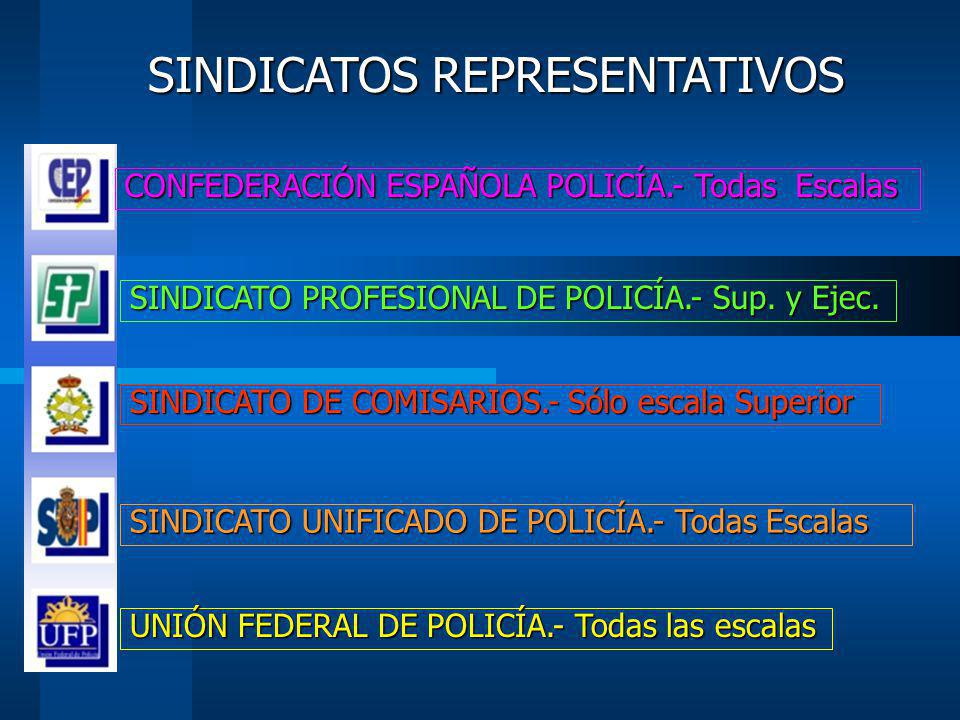 SINDICATOS REPRESENTATIVOS