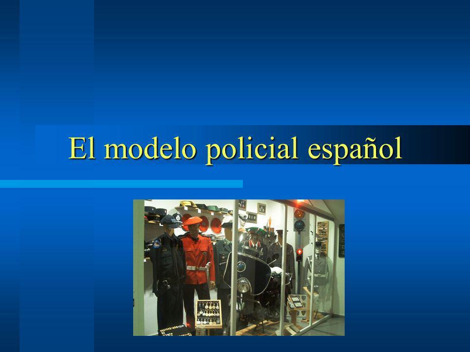 El modelo policial español