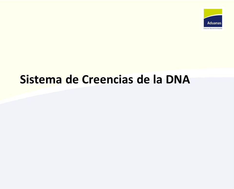 Sistema de Creencias de la DNA