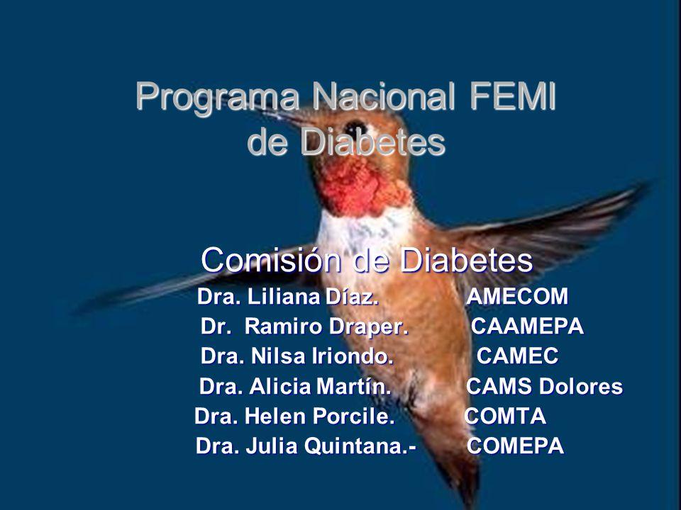 Programa Nacional FEMI de Diabetes