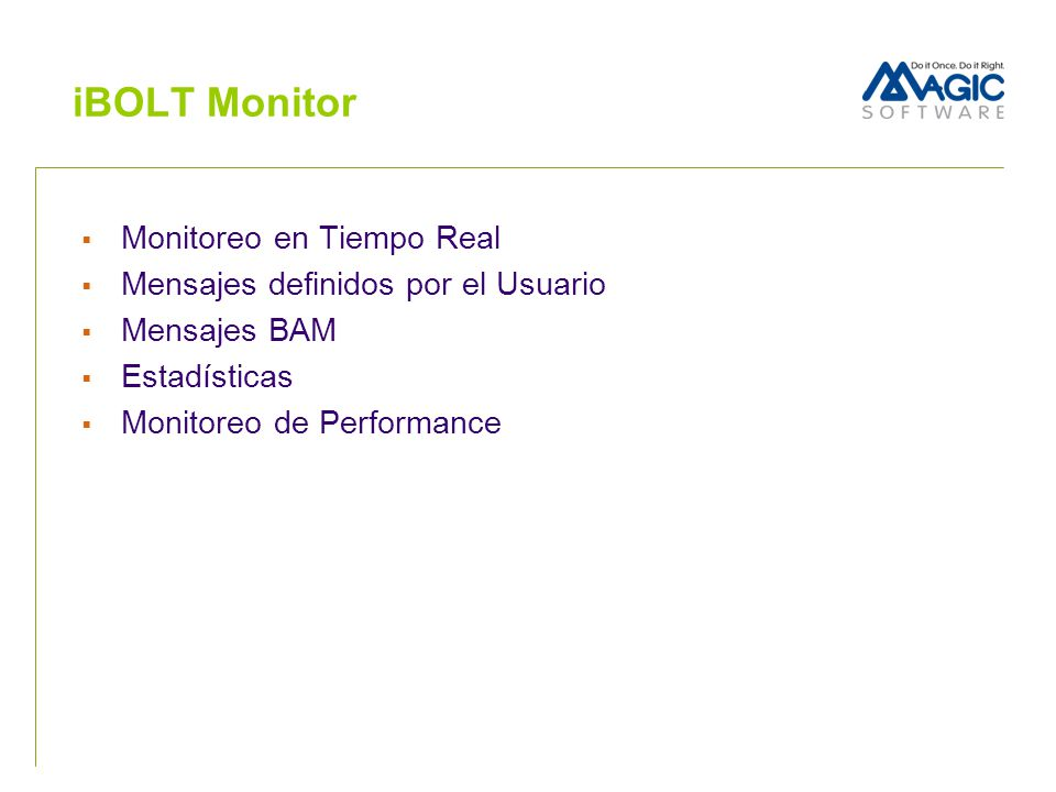 iBOLT Monitor Monitoreo en Tiempo Real