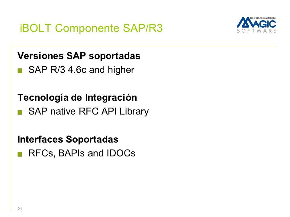 iBOLT Componente SAP/R3