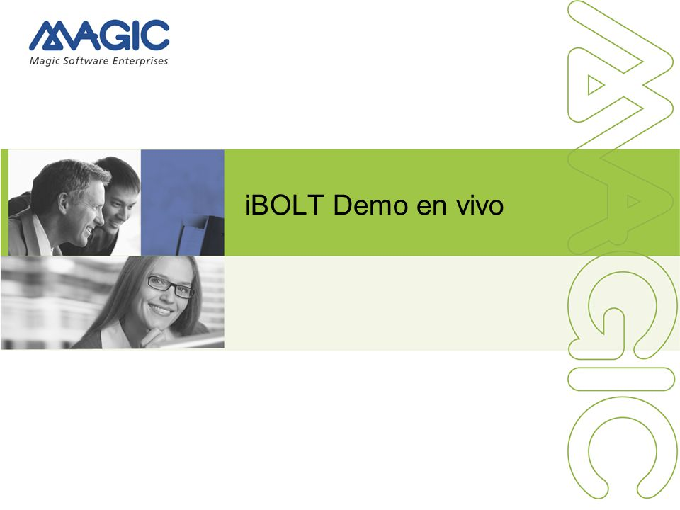 iBOLT Demo en vivo