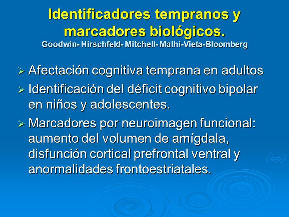 Identificadores tempranos y marcadores biológicos