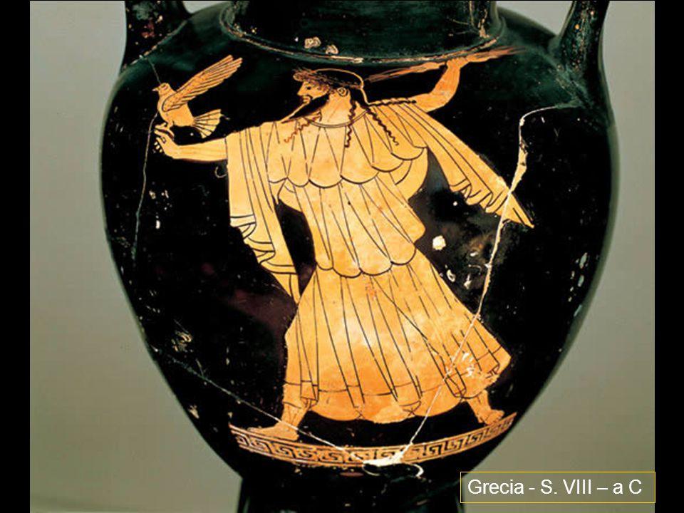 Grecia - S. VIII – a C