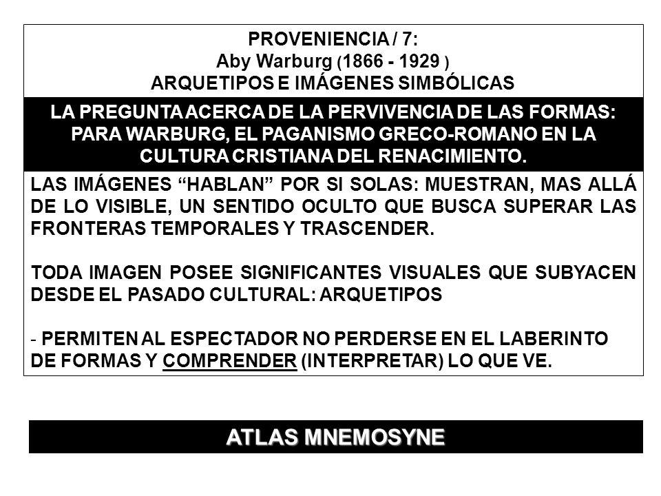 ARQUETIPOS E IMÁGENES SIMBÓLICAS
