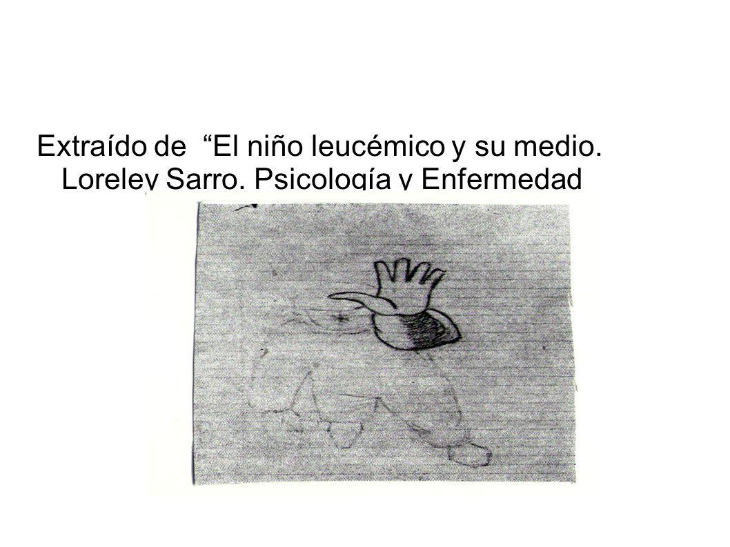 Extraído de El niño leucémico y su medio. Loreley Sarro