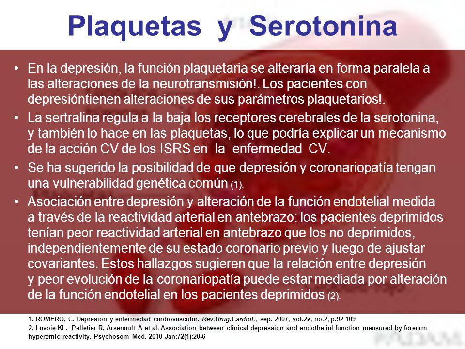 Plaquetas y Serotonina
