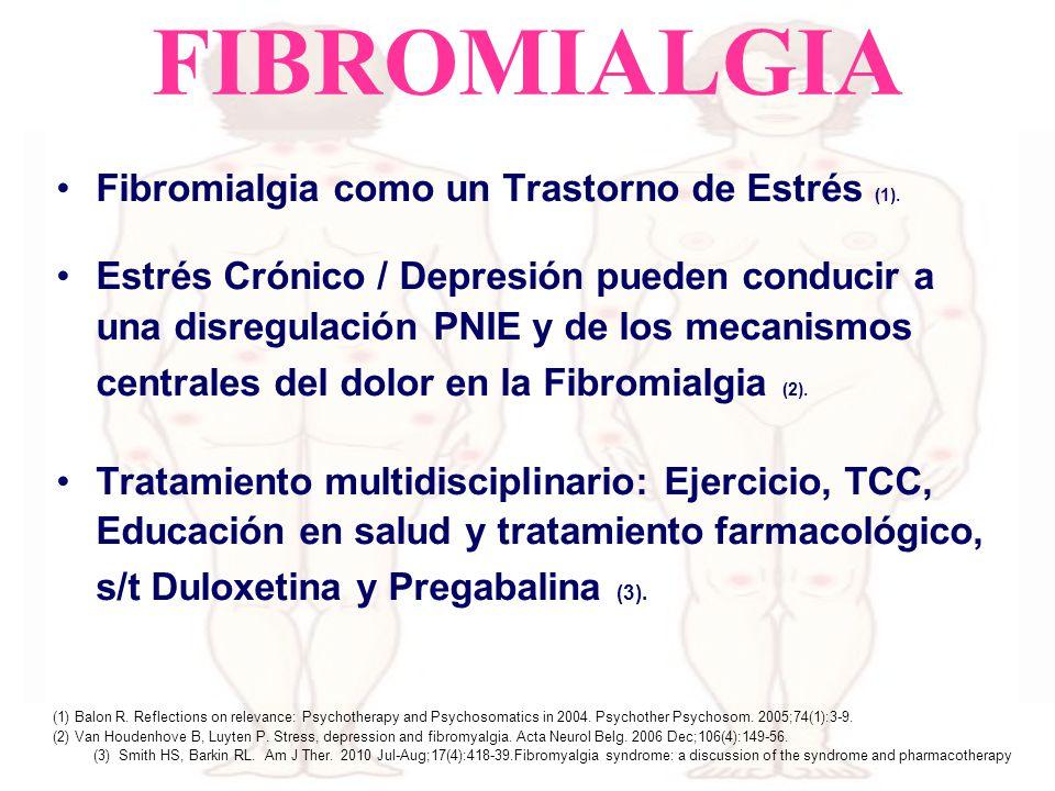 FIBROMIALGIA Fibromialgia como un Trastorno de Estrés (1).