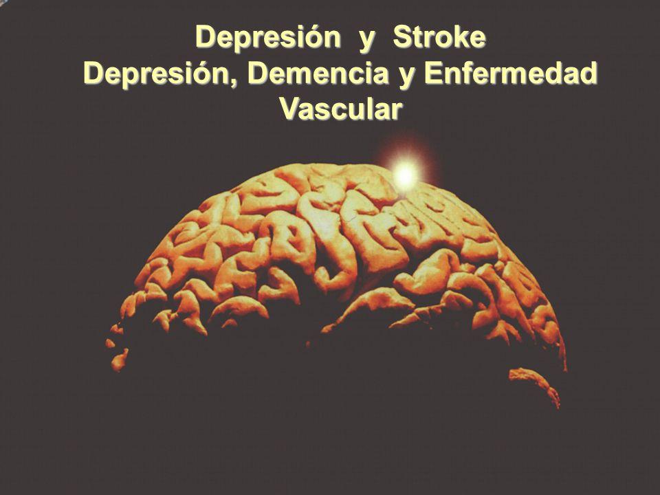 Depresión, Demencia y Enfermedad Vascular