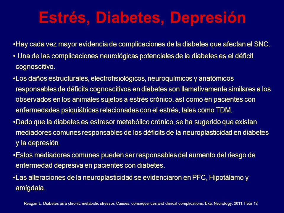 Estrés, Diabetes, Depresión