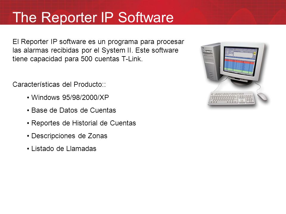 The Reporter IP Software