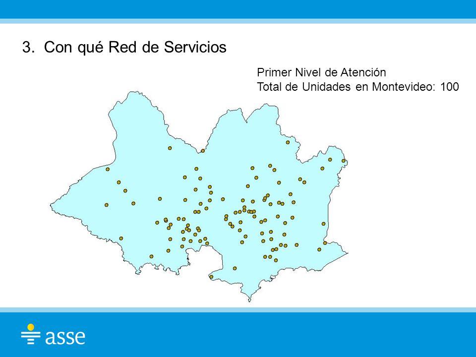 3. Con qué Red de Servicios