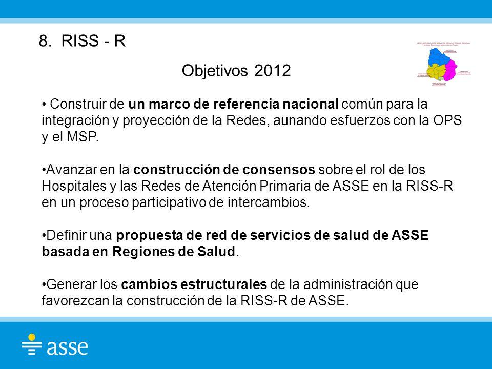 8. RISS - R Objetivos 2012.