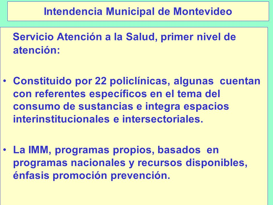 Intendencia Municipal de Montevideo