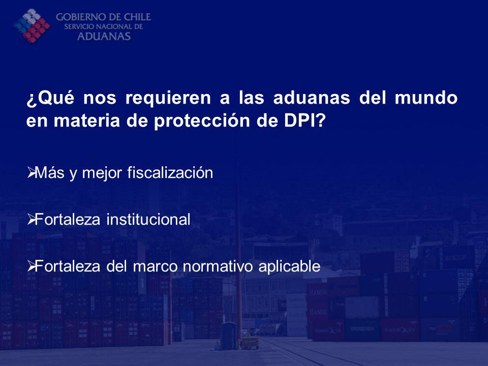 ¿Qué nos requieren a las aduanas del mundo en materia de protección de DPI