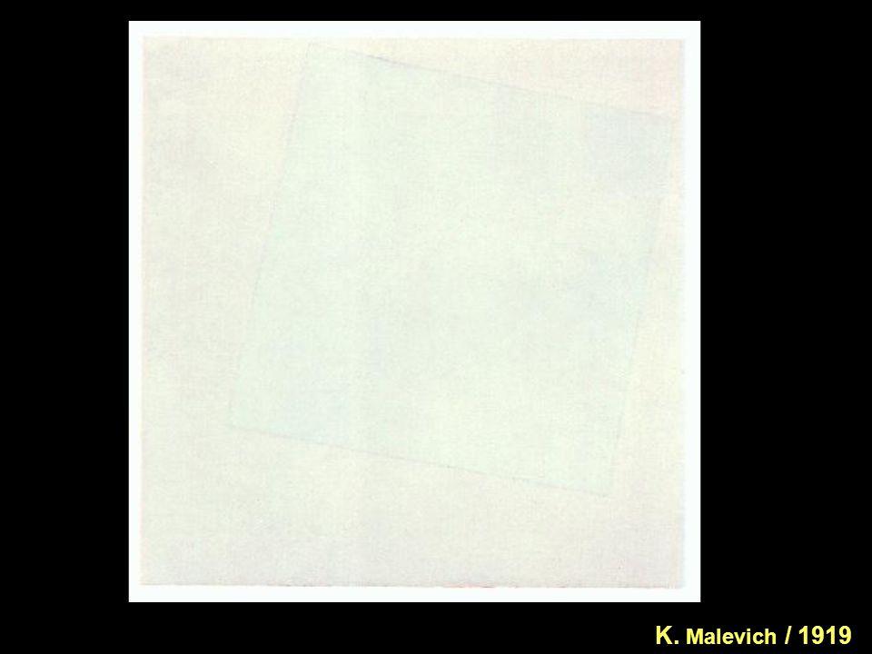 K. Malevich / 1919