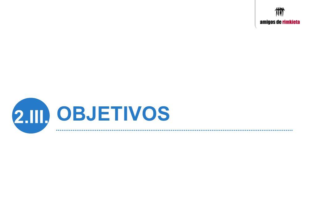 OBJETIVOS 2.III.