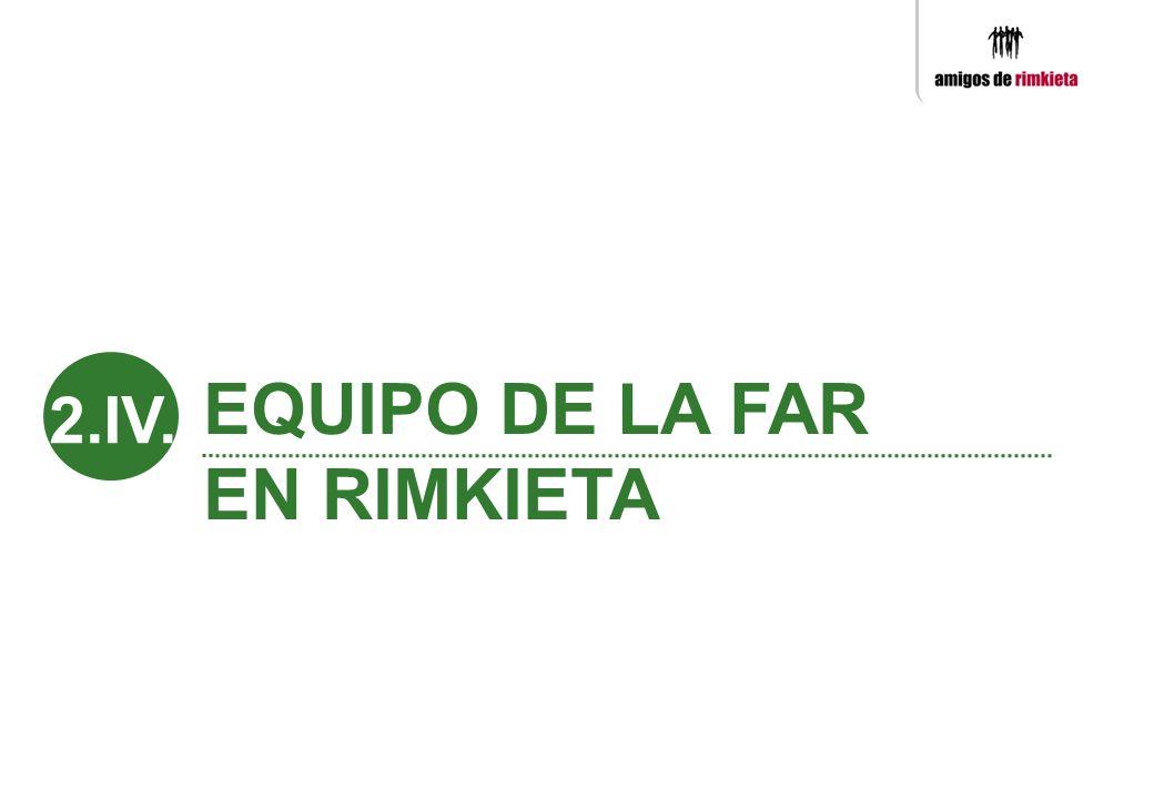 EQUIPO DE LA FAR EN RIMKIETA