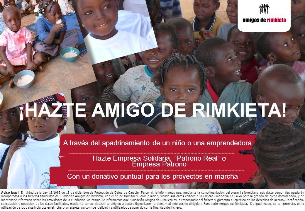 ¡HAZTE AMIGO DE RIMKIETA!