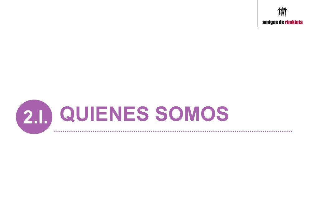 2.I. QUIENES SOMOS