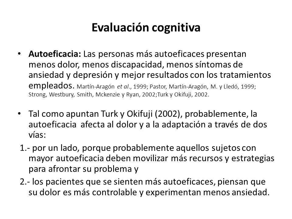 Evaluación cognitiva