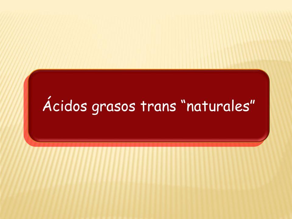 Ácidos grasos trans naturales