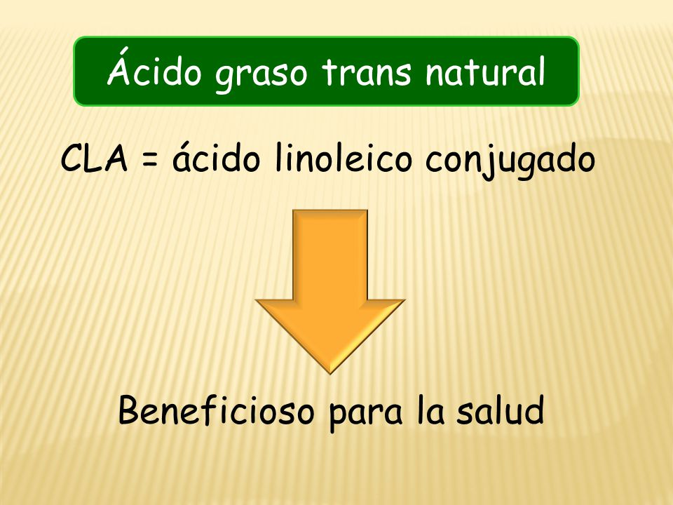 Ácido graso trans natural