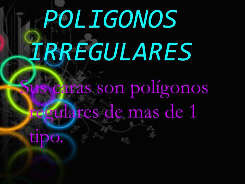 POLIGONOS IRREGULARES