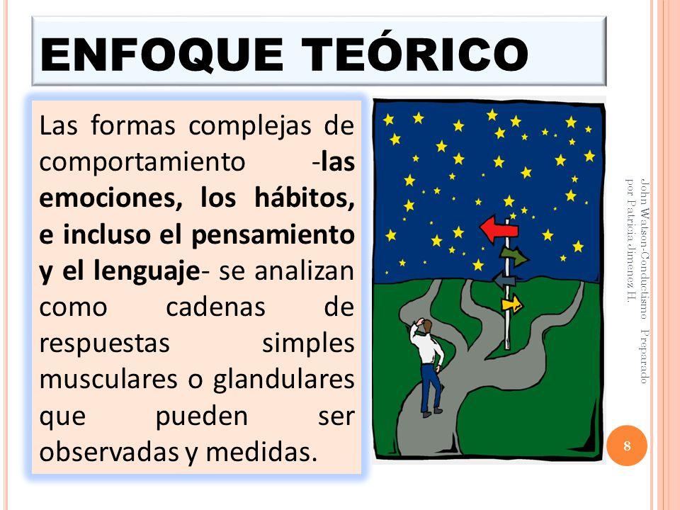 ENFOQUE TEÓRICO