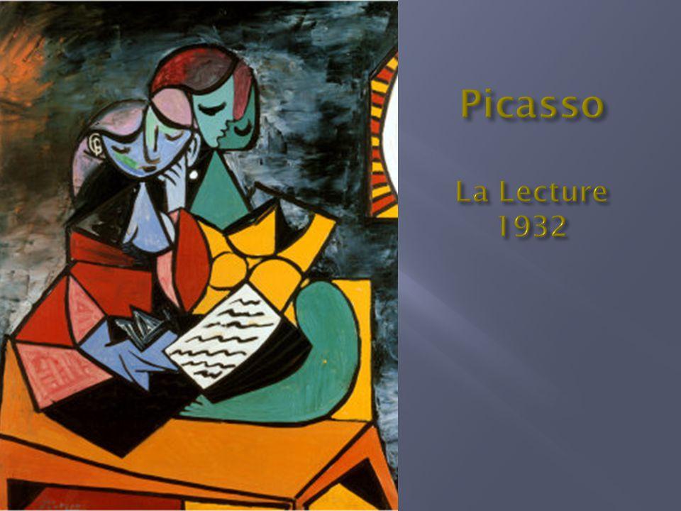 Picasso La Lecture 1932