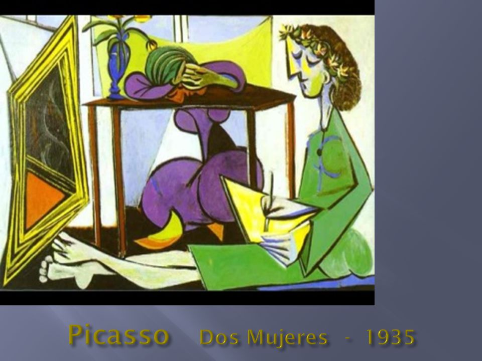 Picasso Dos Mujeres - 1935