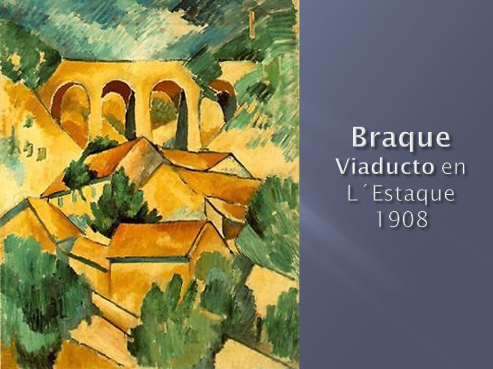 Braque Viaducto en L´Estaque 1908
