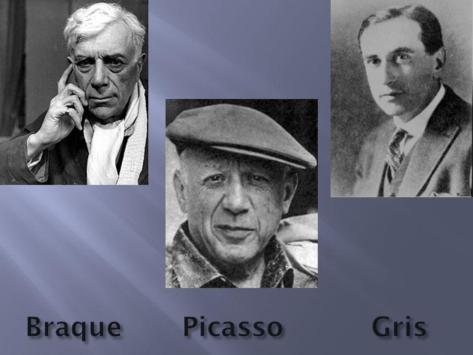 Braque Picasso Gris
