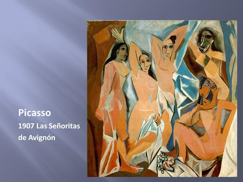 Picasso 1907 Las Señoritas de Avignón