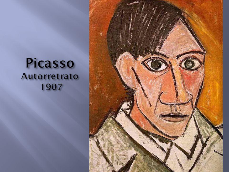 Picasso Autorretrato 1907