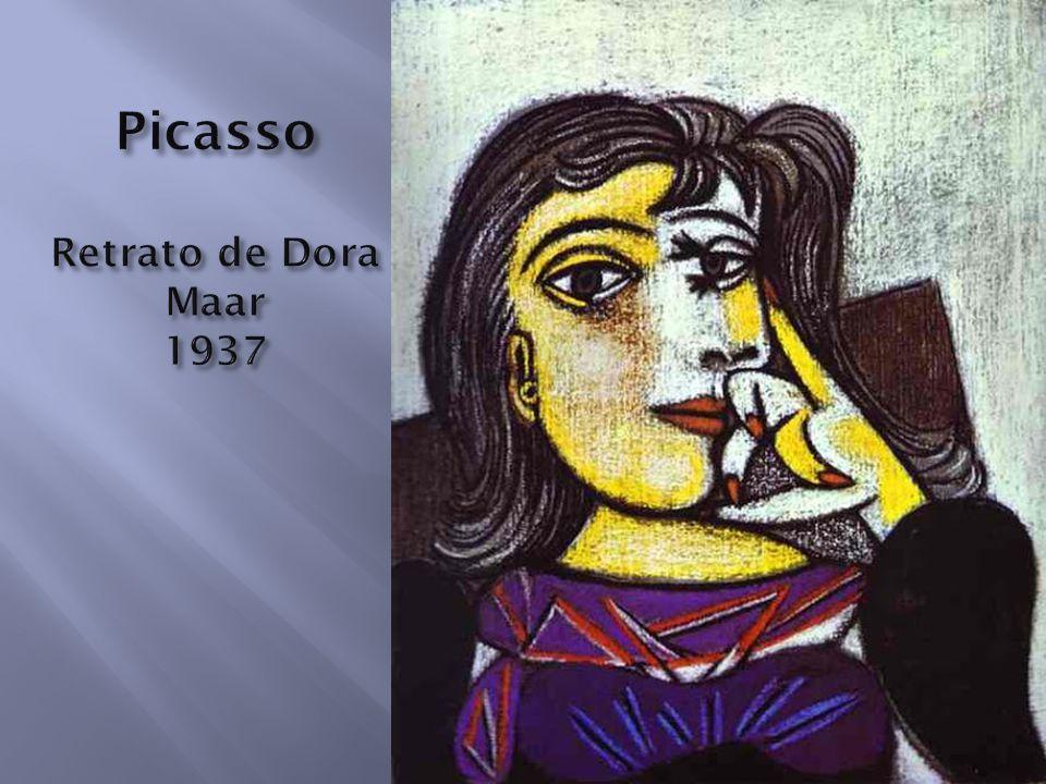 Picasso Retrato de Dora Maar 1937