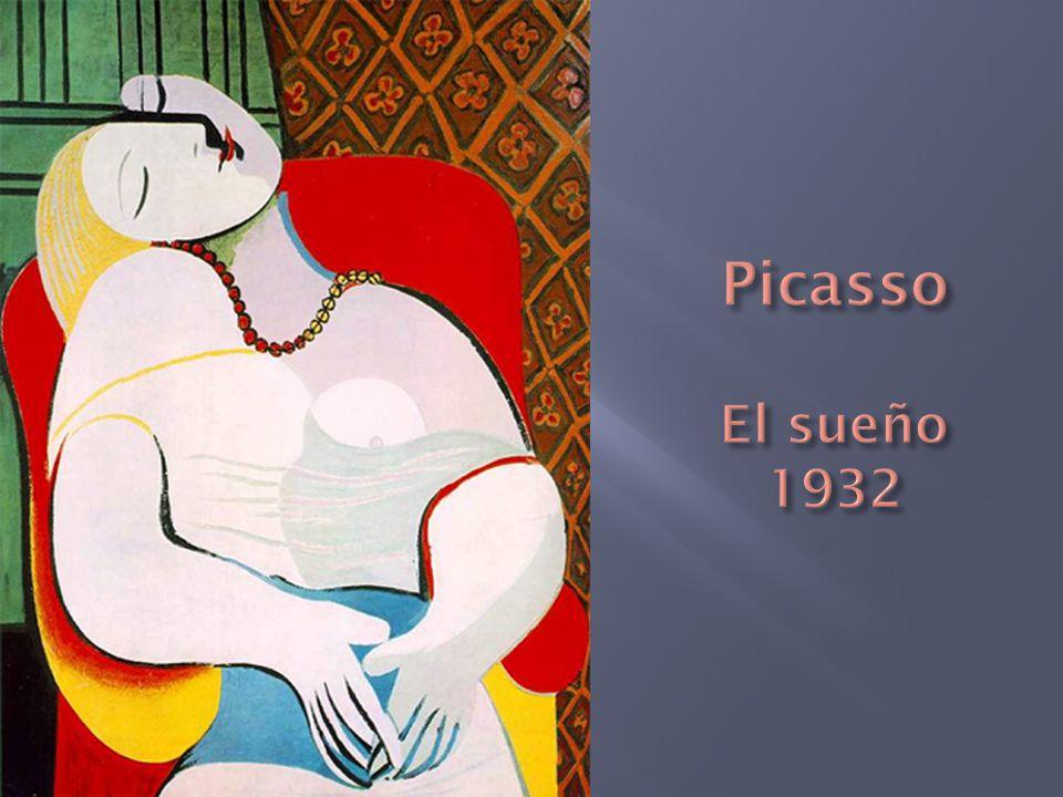 Picasso El sueño 1932