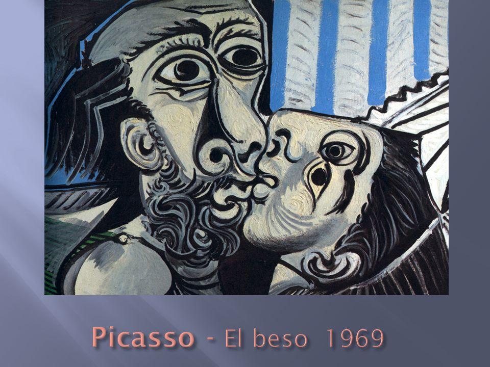 Picasso - El beso 1969