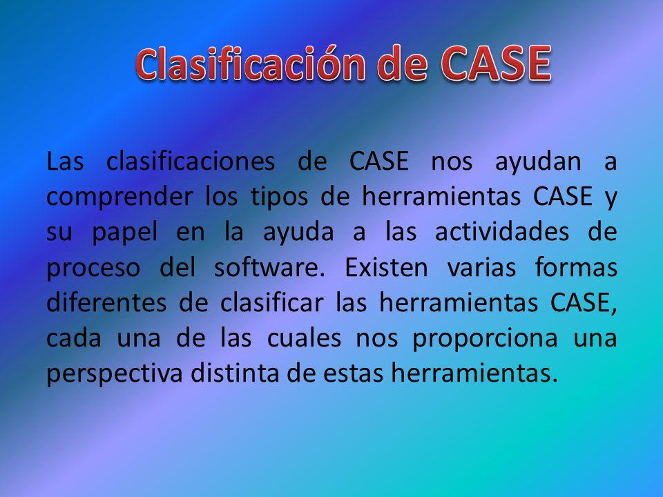 Clasificación de CASE