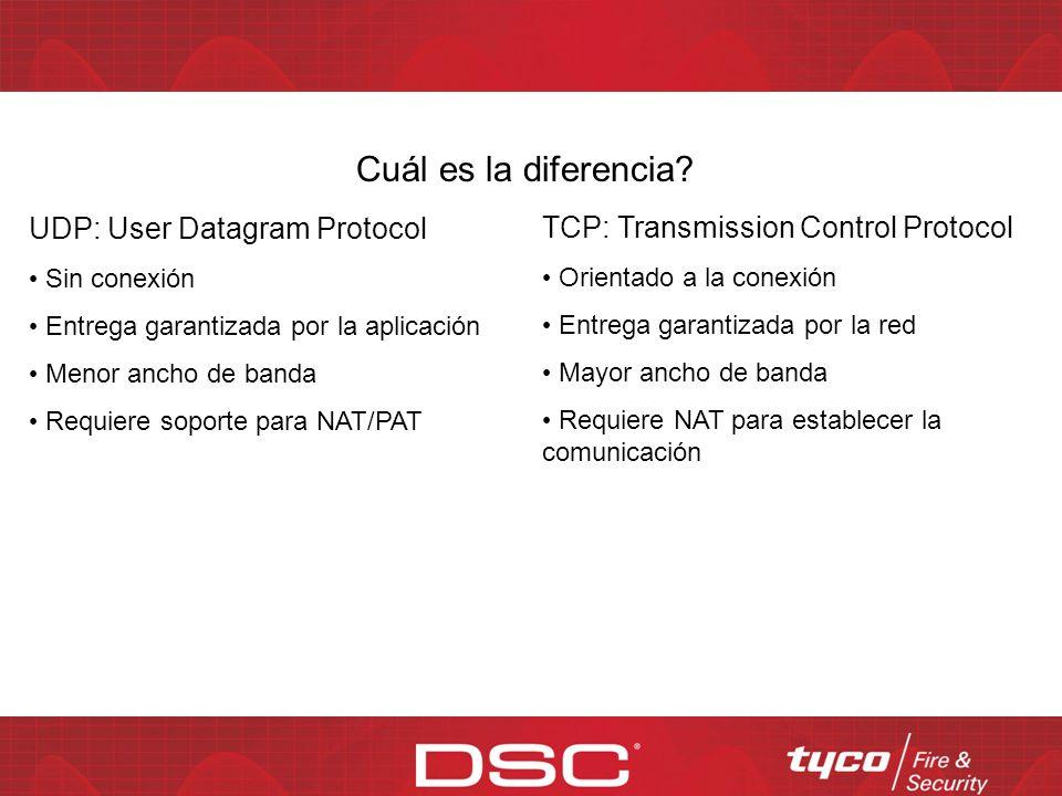 Cuál es la diferencia UDP: User Datagram Protocol