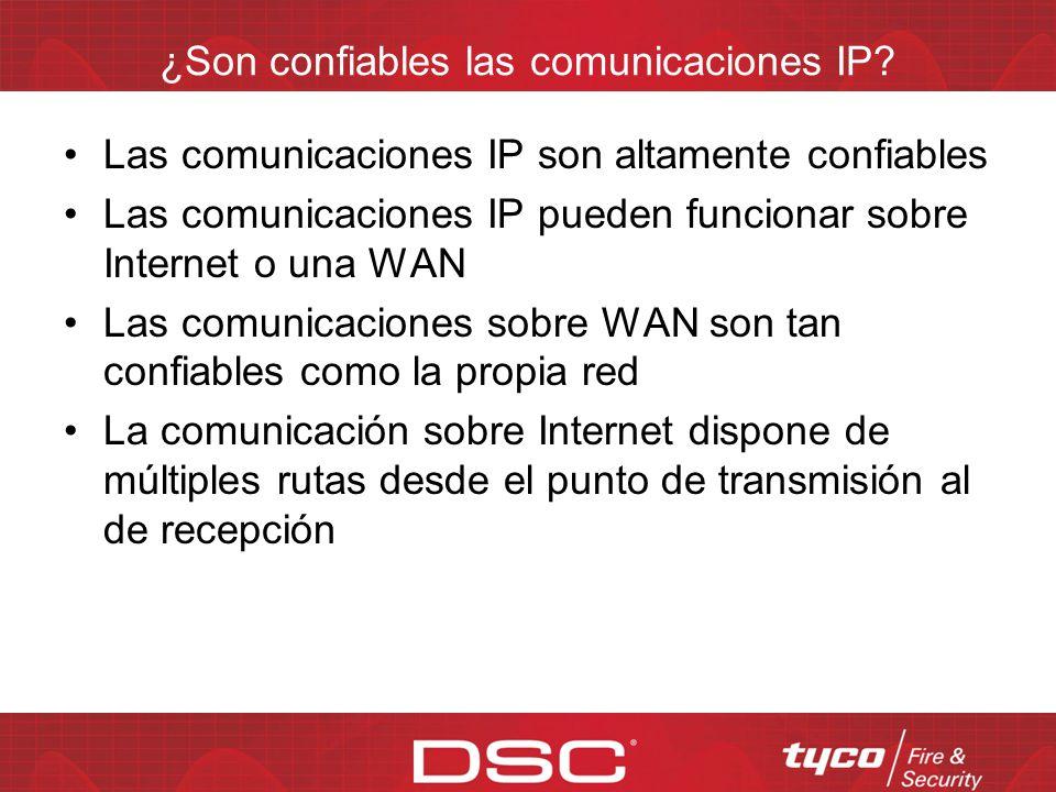 ¿Son confiables las comunicaciones IP
