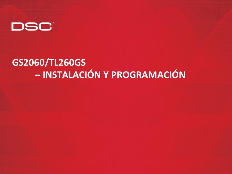 GS2060/TL260GS – Instalación y programación