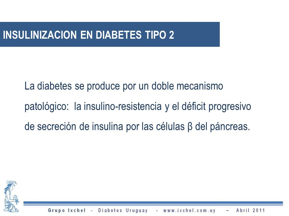 INSULINIZACION EN DIABETES TIPO 2