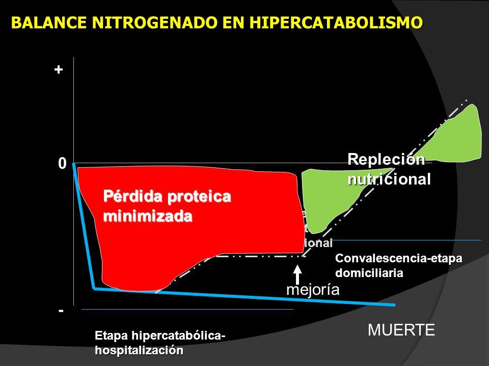 BALANCE NITROGENADO EN HIPERCATABOLISMO
