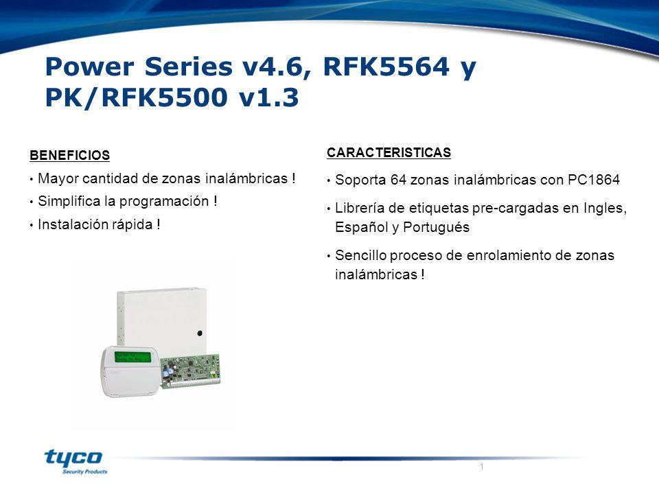 Power Series v4.6, RFK5564 y PK/RFK5500 v1.3